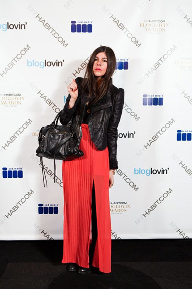 At the Bloglovin' Awards