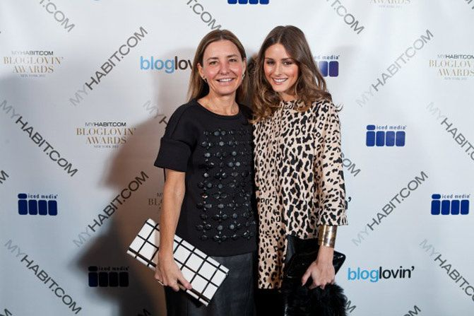 Bloglovin awards, Olivia Palermo, Topshop ambush, Balenciaga city bag, New York Fashion Week