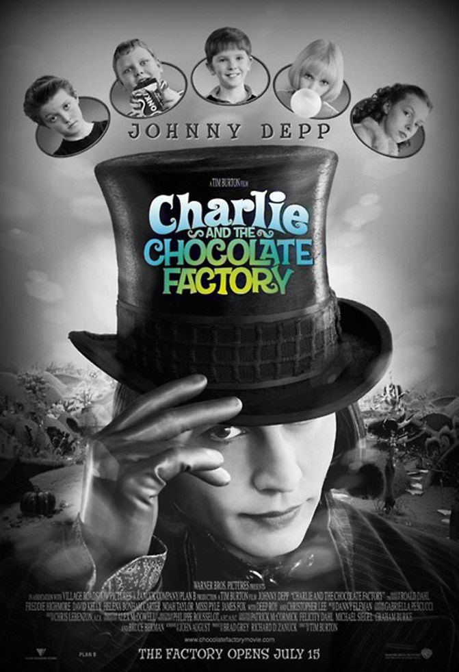 Charlie and the Chocolate Factory + Johnny Depp