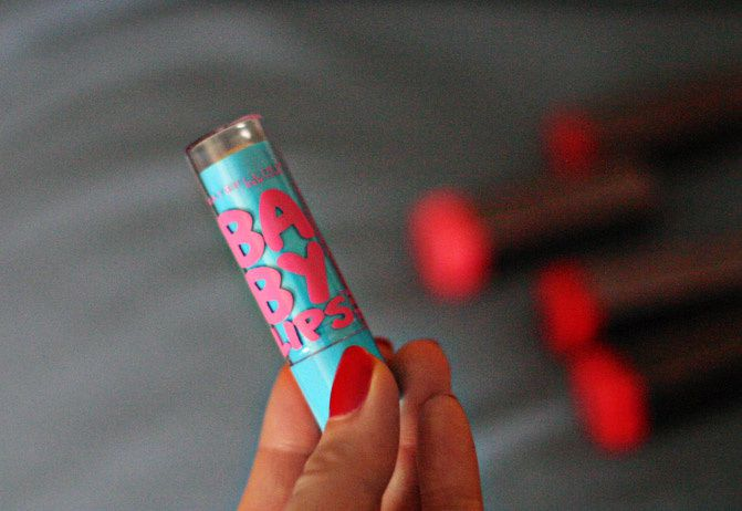 Cover Girl Lipstick, Tory Burch cosmetic case, Fashion, makeup, beauty