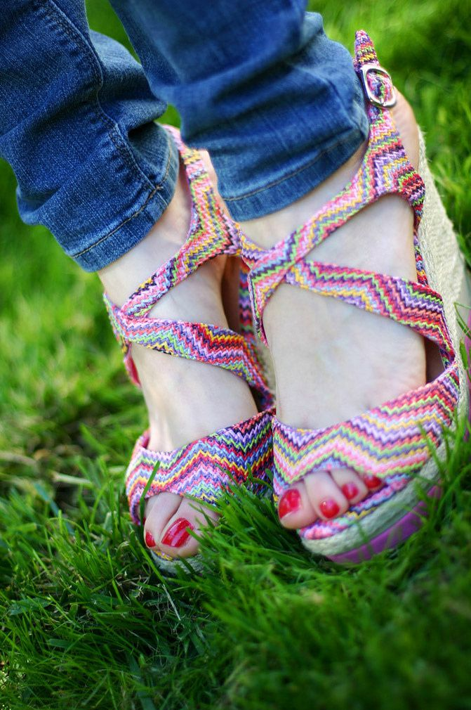 """ NEW IN "" Colorful Espadrilles"