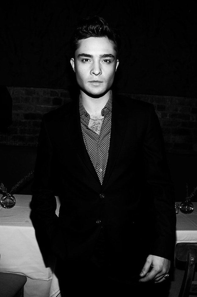 Ed Westwick, Chuck Bass is Marlon Brando, Gossip Girl