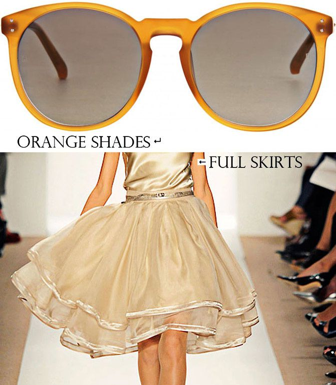 Linda Farrow sunglasses, Dennis Basso dresses, Fashion