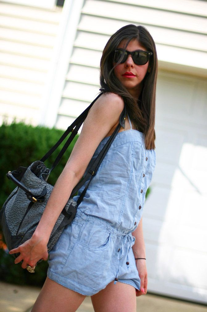 Kooba Pearl denim bag, Fashion, animal print Chanel clogs, Ray Ban WAYFARER SUNGLASSES,