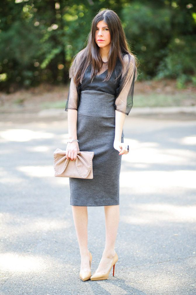 Ports 1961 Dress, Fashion, Christian Louboutin Pigalle pumps, outfit