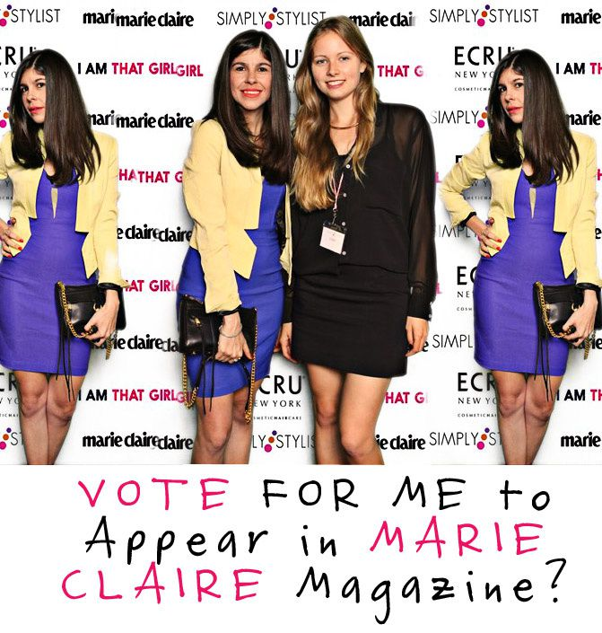 Marie Claire magazine, Fashion Chalet, New York Fashion Week, W Hotel, Simply Stylist