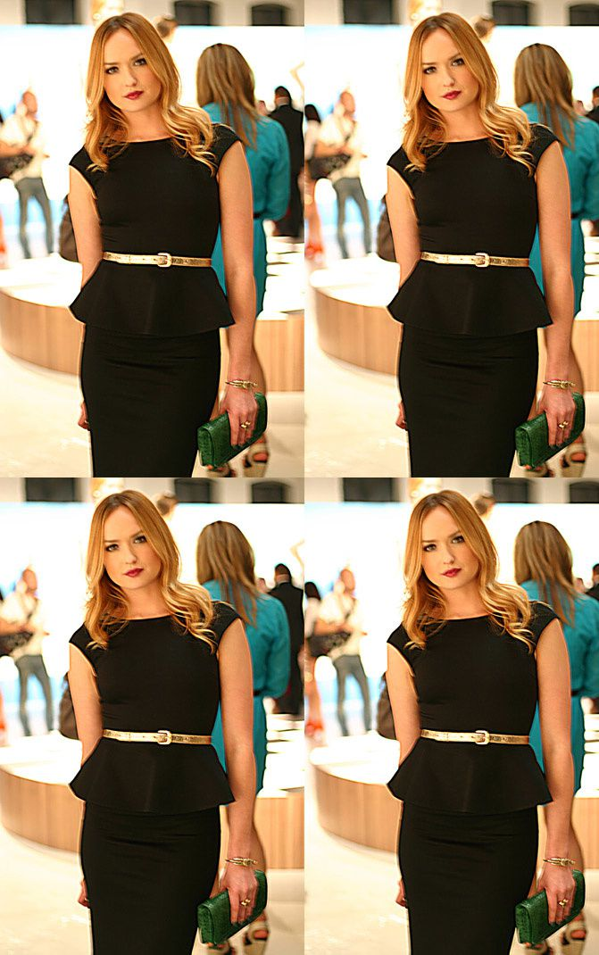 Kaylee DeFer, Gossip Girl Ivy Dickens, Alice and Olivia, New York Fashion Week