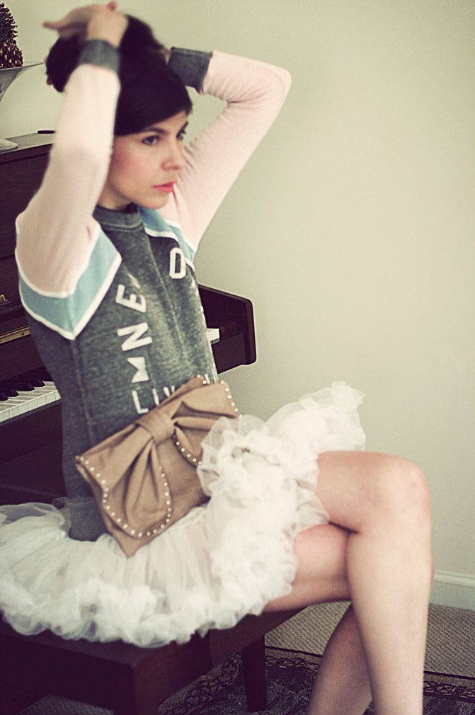 Ballerina inspired fashion, Rebel Yell Campaign