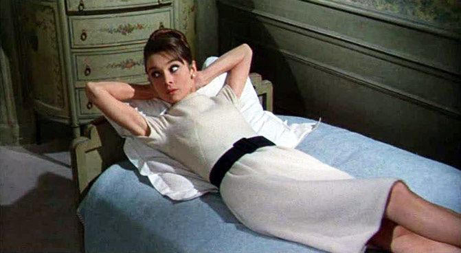 Audrey Hepburn in Charade fashion inspiration, fashion photography
