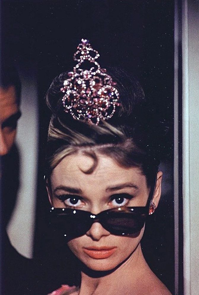 Audrey Hepburn Breakfast at Tiffany's fashion inspiration, fashion photography
