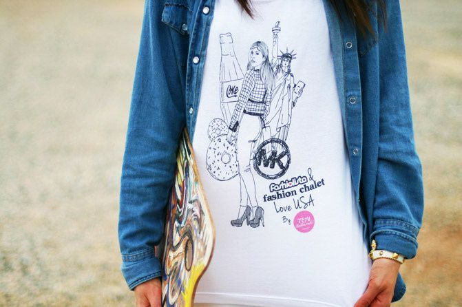 jesulafrench t-shirt, fashion, outfit, topshop, fashiolista and fashion chalet