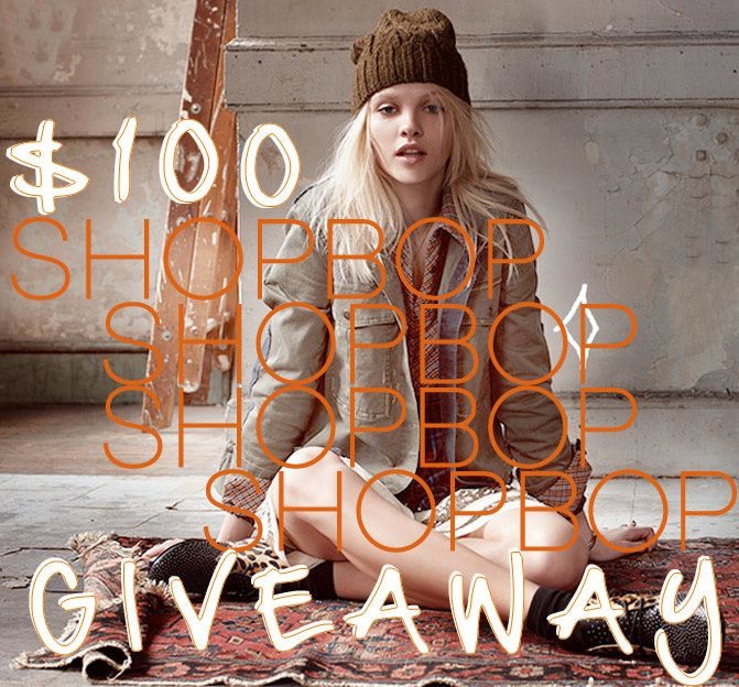 Shopbop Giveaway, Fashion