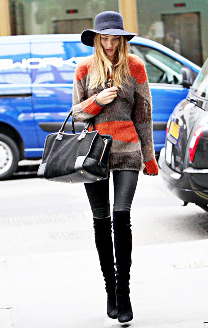 """ STYLE ICON "" Rosie Huntington Whiteley"