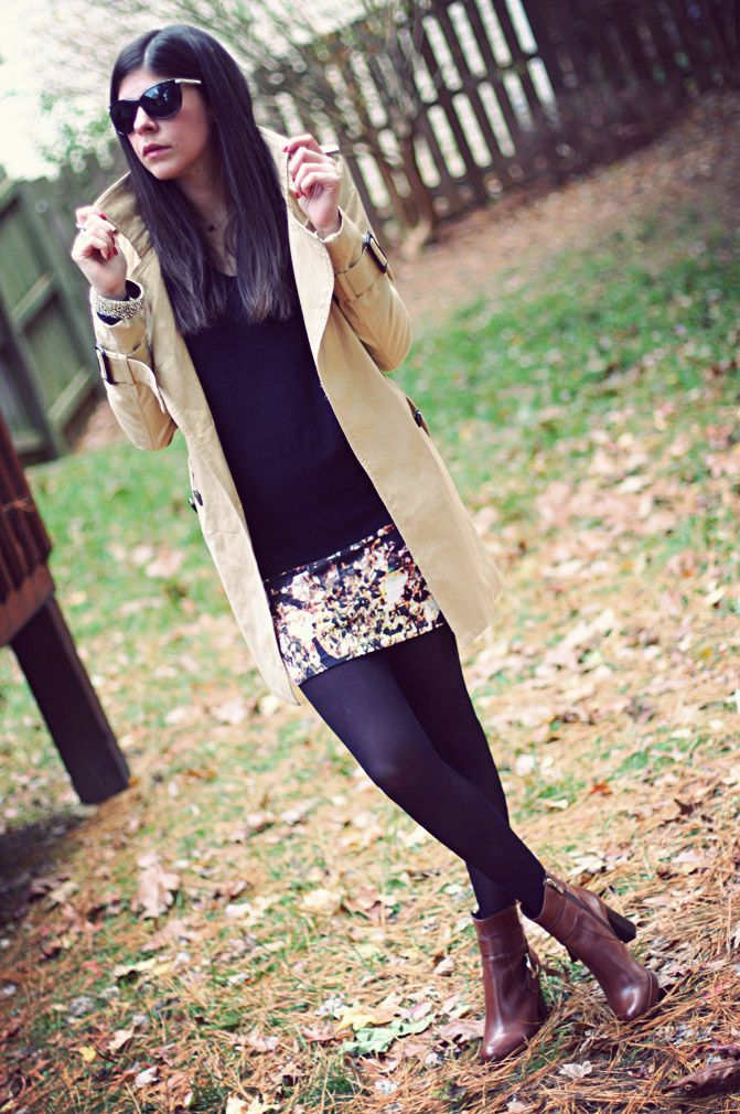 Trench Coat Fashion, Ankle boots, Romwe, La Canadienne, Outfit