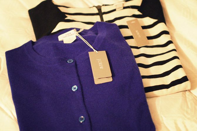 Christmas, J Crew Cashmere Sweaters