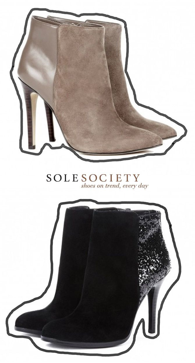 Sole Society shoes, fashion, ankle boots