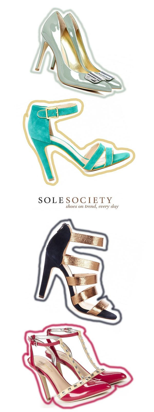 """NEW IN"" Heels from Sole Society"