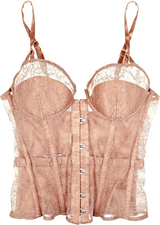 lace bustier fashion