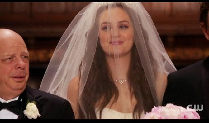 gossip girl wedding blair waldorf, weddings, fashion