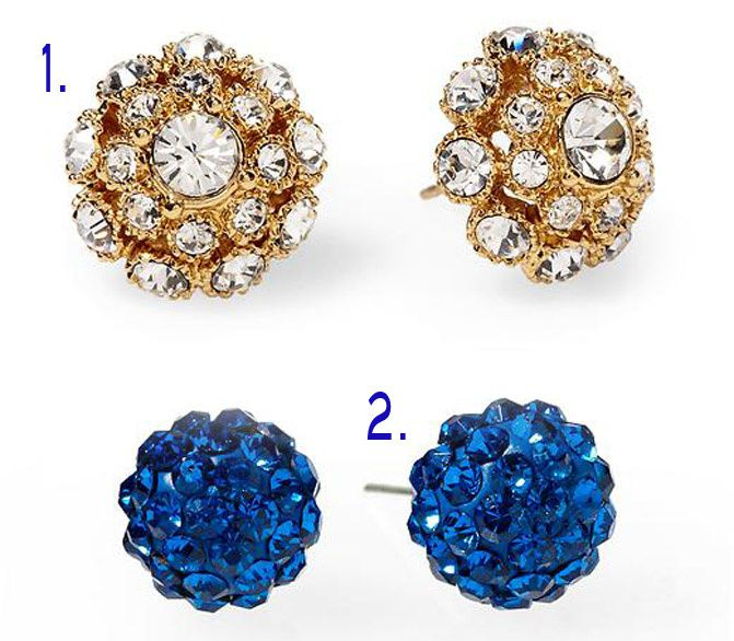 stud earrings, diamond earrings, fashion