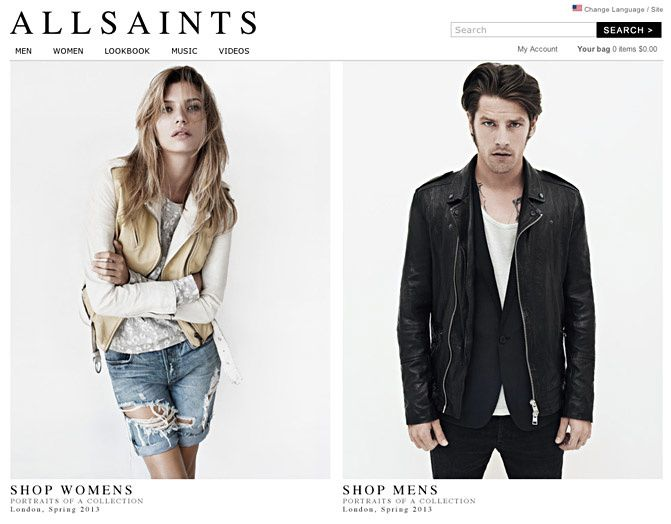 All Saints Fashion