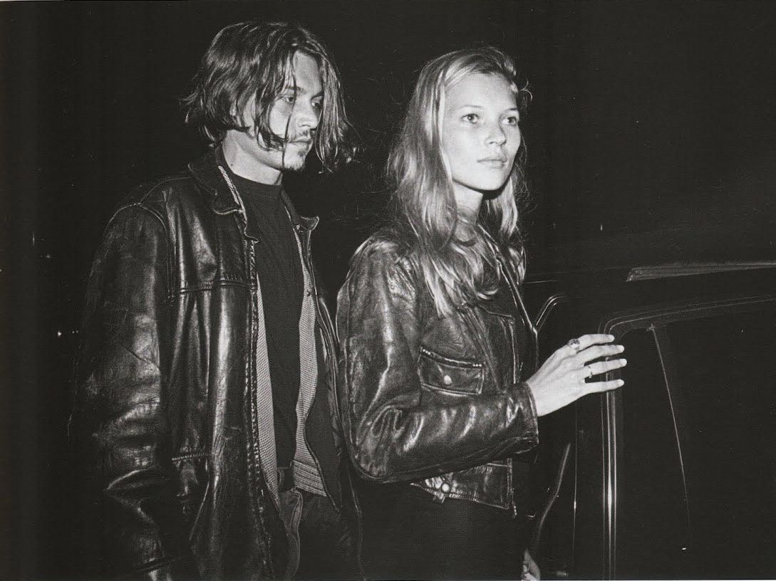 Johnny Depp Fashion, Kate Moss