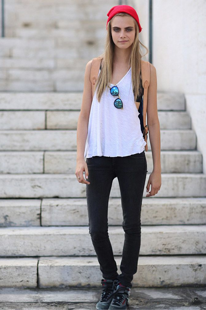 Cara Delevingne, Fashion Model, Street Style inspiration