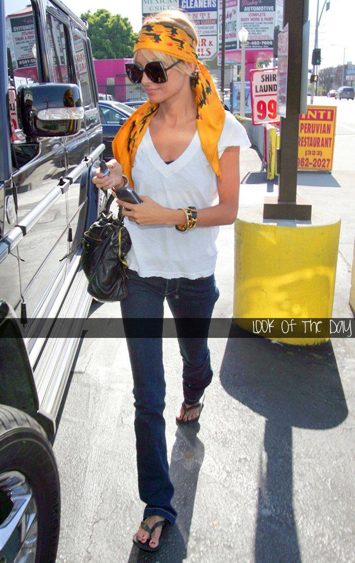 Nicole Richie And Her Many Balenciaga Bags Fashion