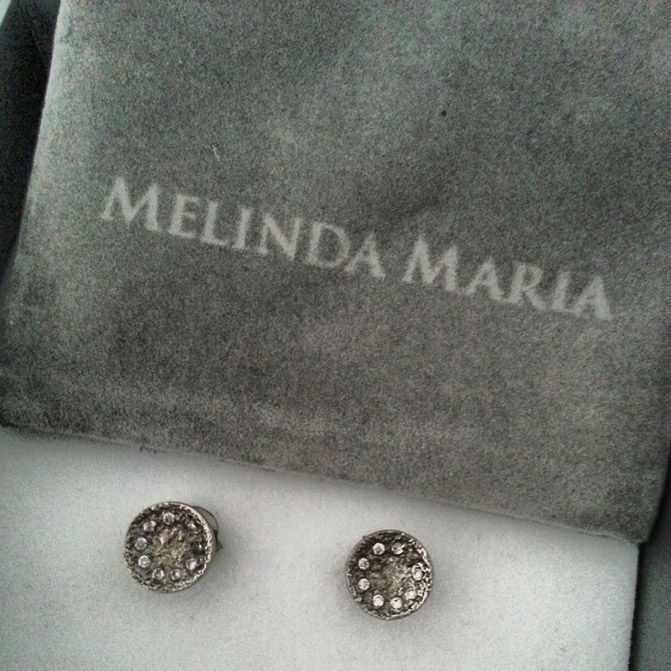 instagram, melinda maria diamond stud earrings, fashionchalet