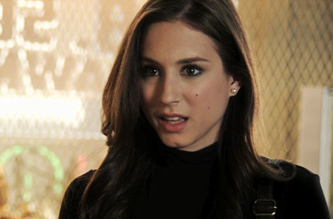 Spencer Hastings Gives Good Hair Fashion Chalet By Erika