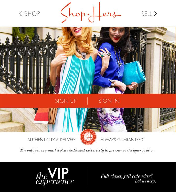 Shop Hers, Sell fashion, Fashion deals, Gucci, Manolo Blahnik, Balenciaga
