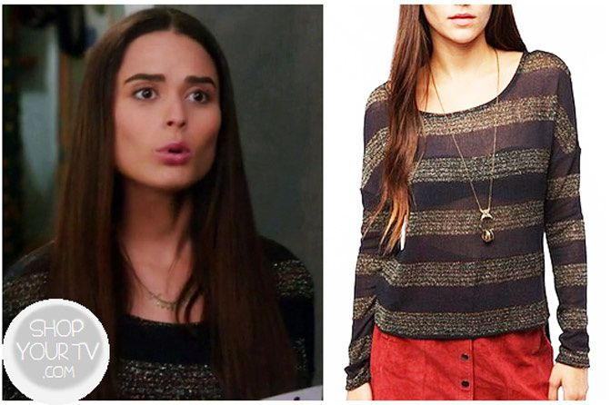 natalie pierce switched at birth clothes, Stephanie Nogueras