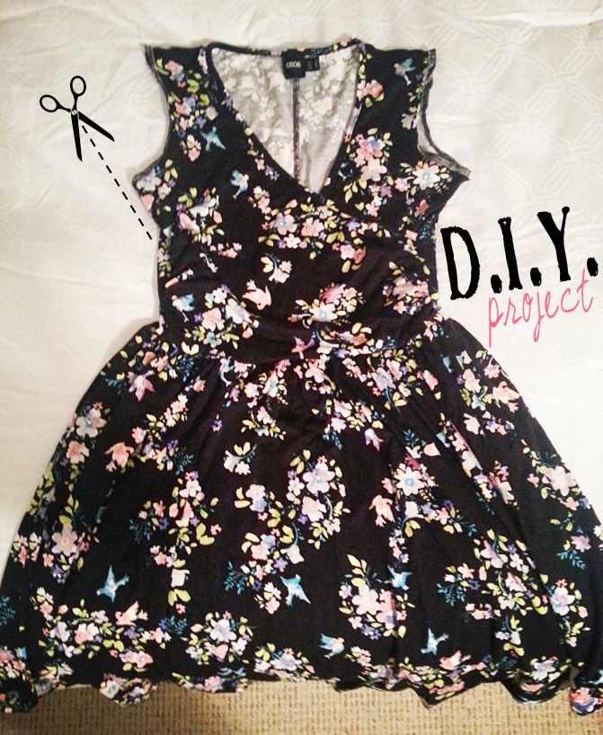 """DIY"" ASOS Dress"