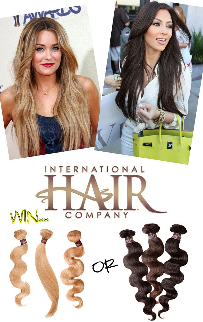 GIVEAWAY International Hair Company Hair Extensions