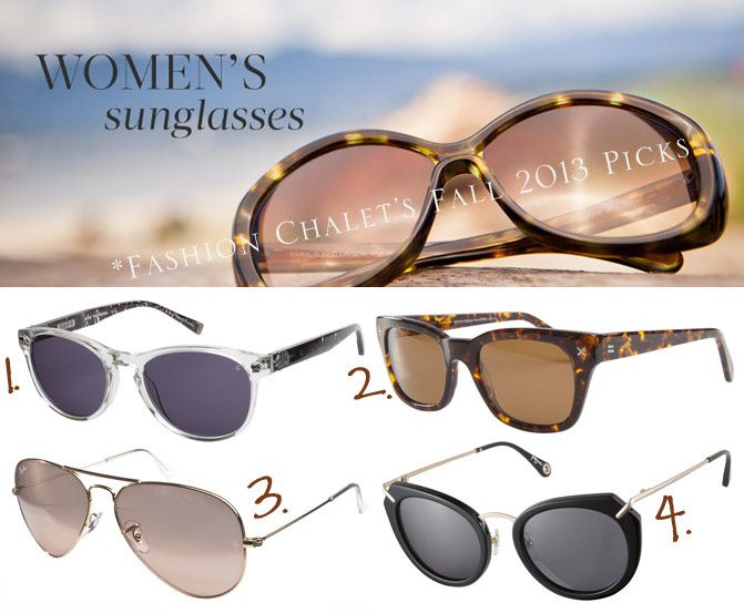 Must Have Sunglasses for Fall Wear 2013
