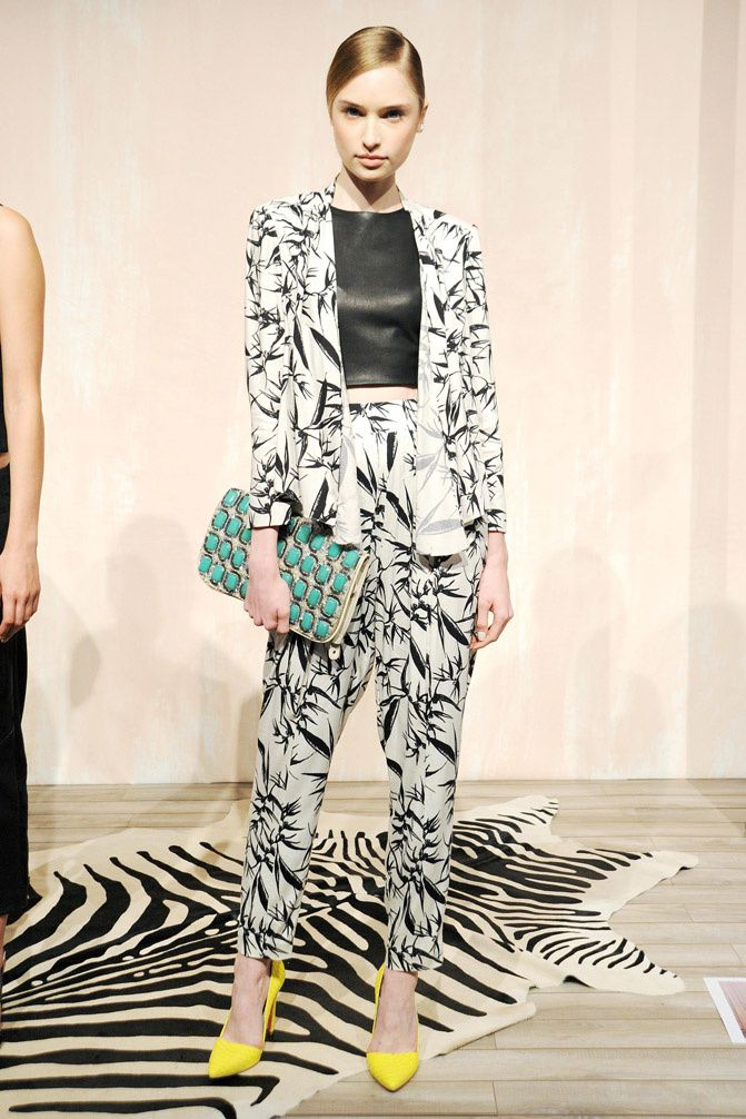 Alice and Olivia Spring Summer 2014