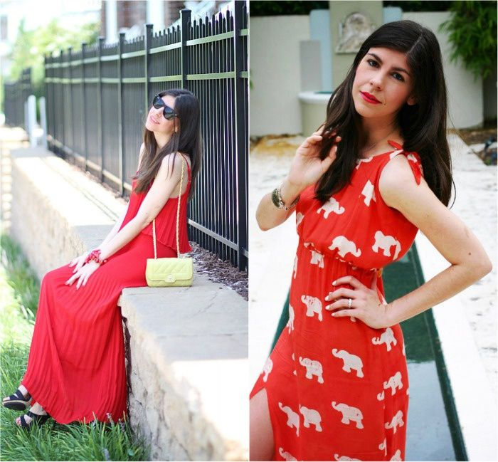 {Dresses} Red is my Favorite Color