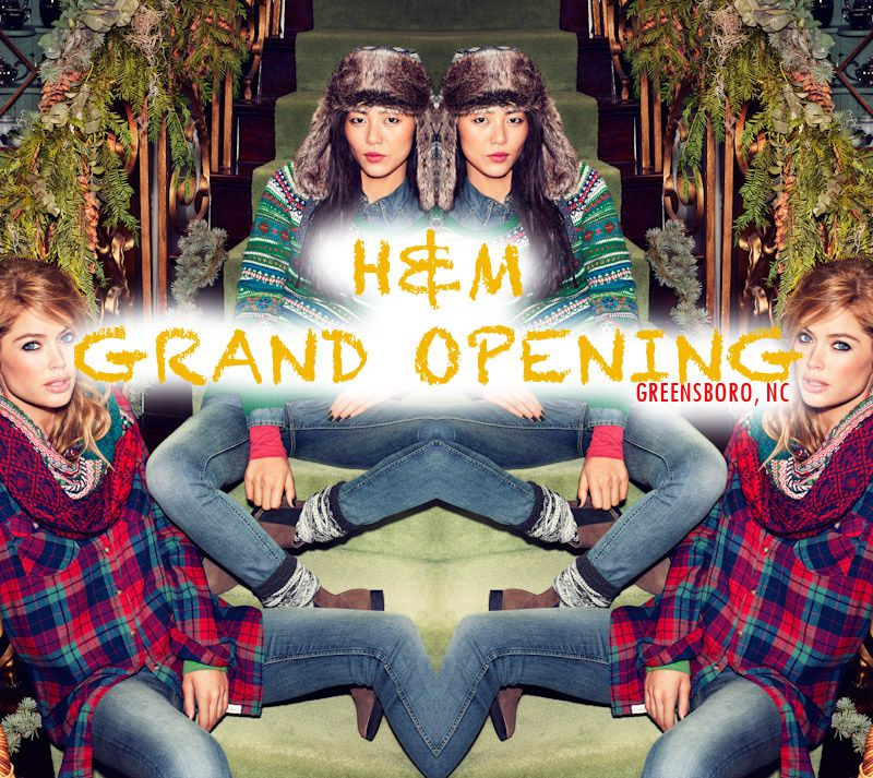 I'm Hosting Another H&M Grand Opening {Greensboro, NC}