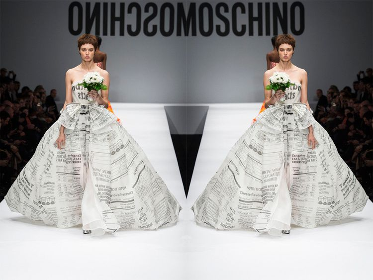 Moschino Takes a Wrong Turn