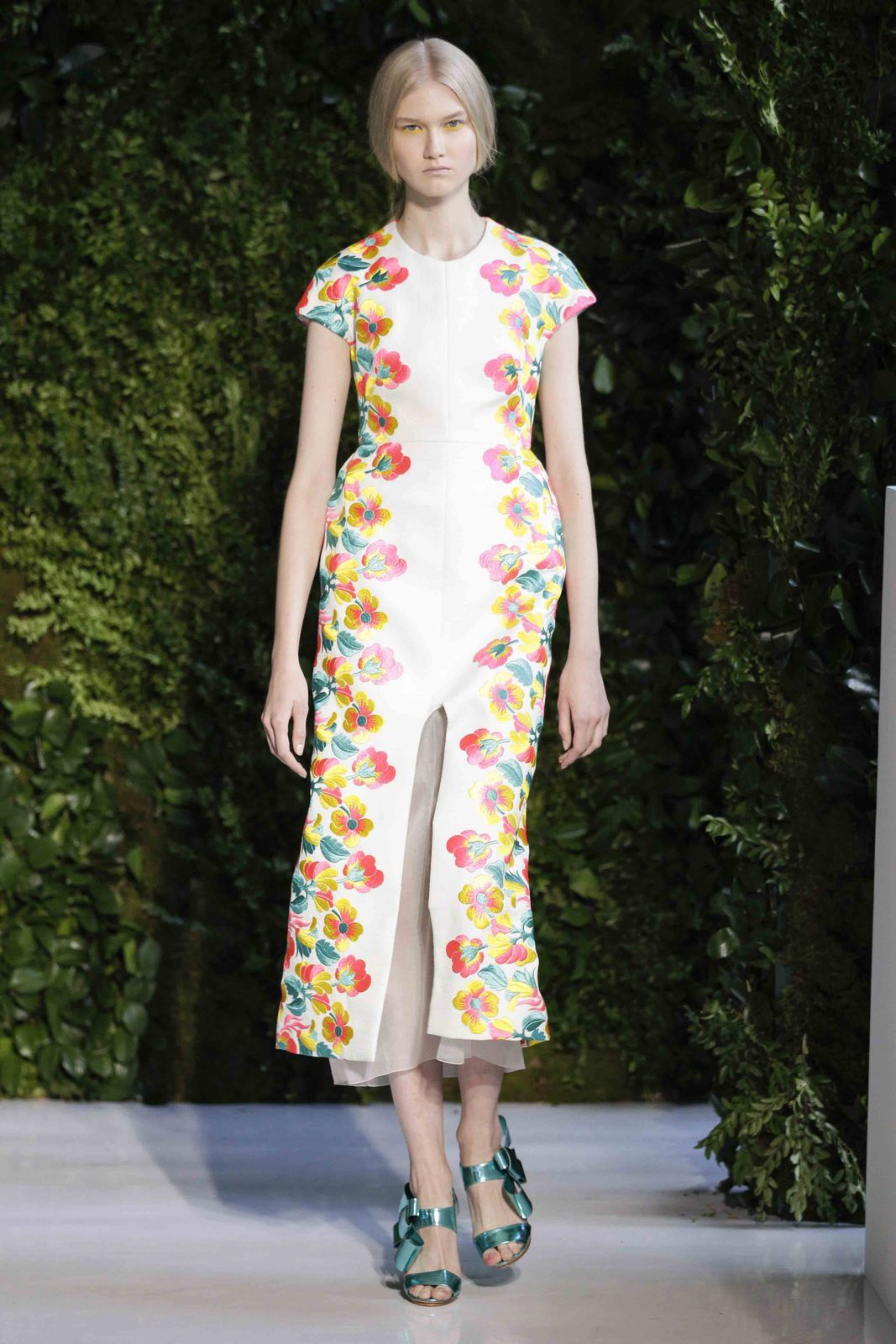 DELPOZO Florals for Spring 2014