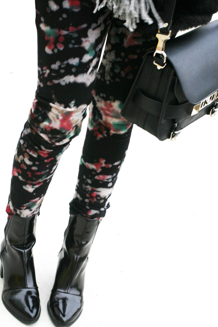 Paint Splatter Pants
