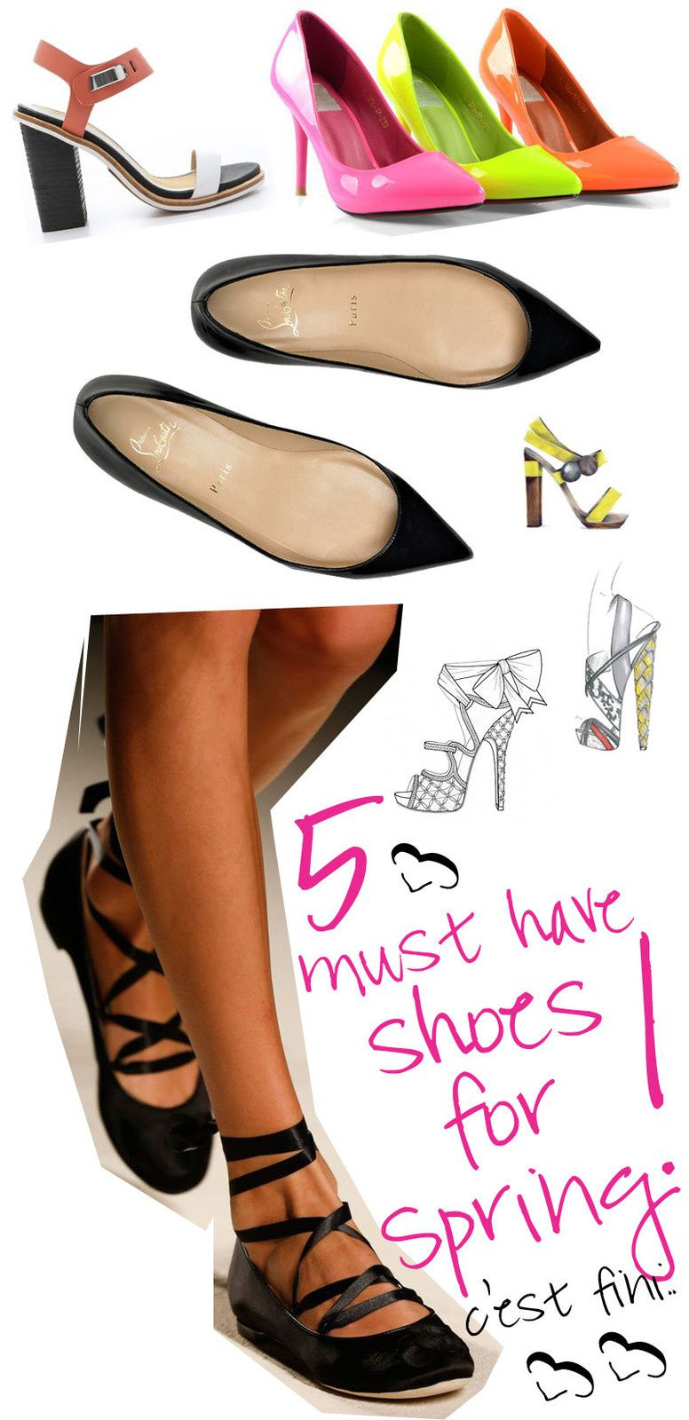 Five Must-Have Shoes for Spring 2014