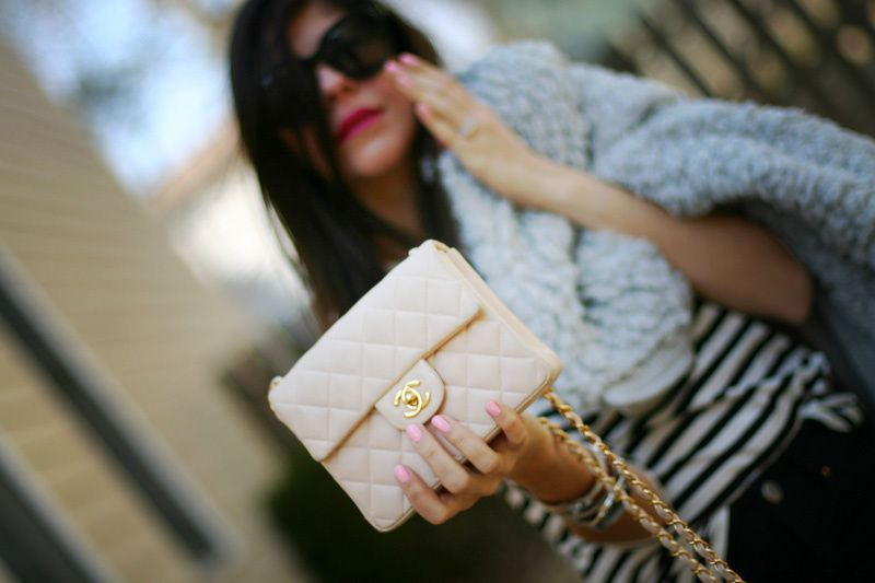 Pink and Gray + Chanel