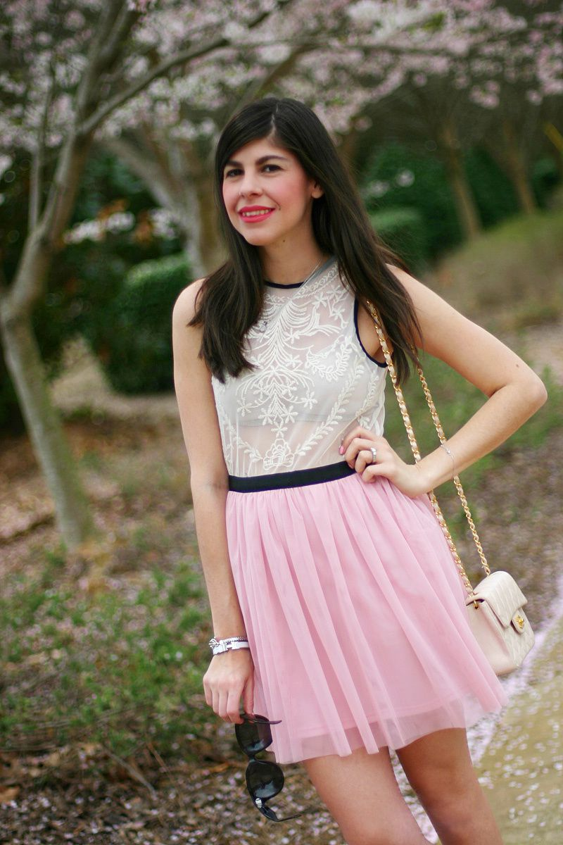 Tulle and Lace Dress