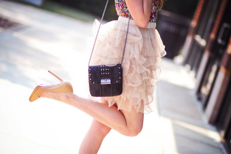 Christian Louboutin and a Tutu