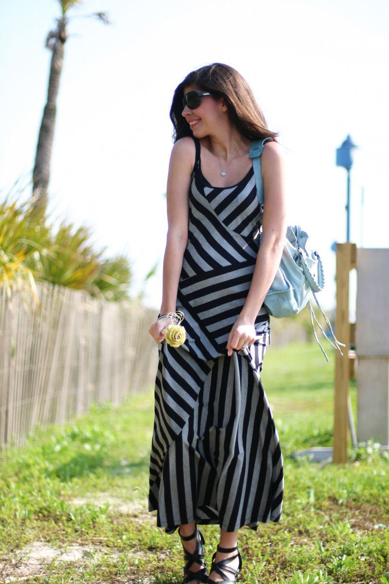 Stripes at the Beach {Tybee Island}