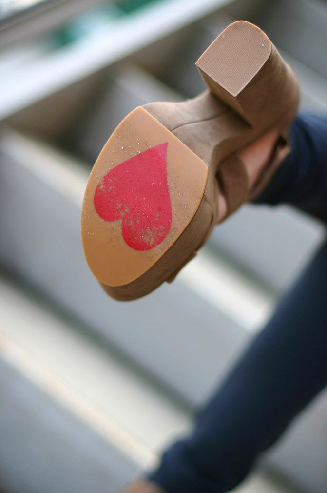 Heart on My Shoes