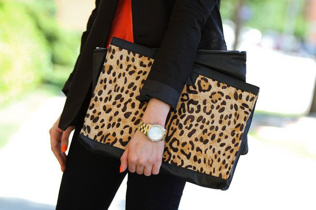 Dressing for Work with Leopard