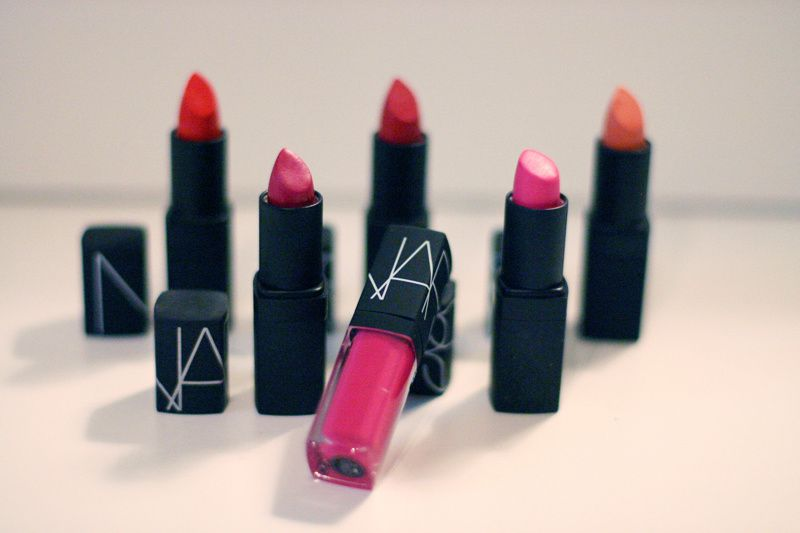 &quot&#x3B;New In&quot&#x3B; NARS Lipstick Collection
