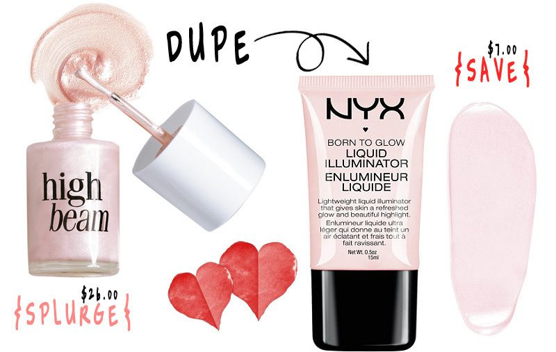 {MAKEUP DUPE} BENEFIT vs NYX COSMETICS